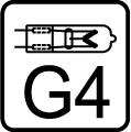 Žiarovka halogénová G4