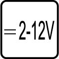 Určené pre napájacie napätie v rozpätí 2-12V