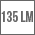Svetelný tok v lumenoch - 135lm
