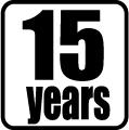 Životnosť 15 rokov