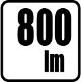 Svetelný tok v lumenoch - 800 lm