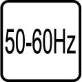 Frekvencia striedavého napätia 50-60 Hz