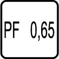 Power faktor - účinnosť - PF>0,65