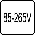 Určené pre napájacie napätie v rozpätí 85-265 V