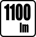 Svetelný tok v lumenoch - 1100 lm