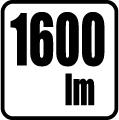 Svetelný tok v lumenoch - 1600 lm
