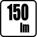 Svetelný tok v lumenoch - 150 lm
