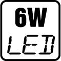 Príkon LED 6W