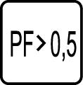 Power faktor - účinnosť - PF>0,5