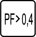 Power faktor - účinnosť - PF>0,4