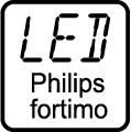 Typ LED čipu - LED PHILIPS FORTISIMO