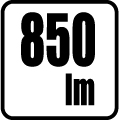 Svetelný tok v lumenoch - 850lm