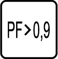 Power faktor - účinnosť - PF>0,9