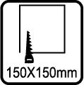 Výrez 150x150mm