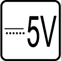 Určené pre napájacie napätie 5V