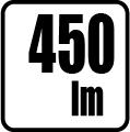 Svetelný tok v lumenoch - 450lm