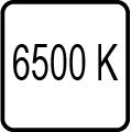 Teplota chromatickosti - 6500 K
