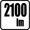 Svetelný tok v lumenoch 2100 Lm