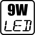 Príkon LED 9W