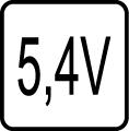 Určené pre napájacie napätie 5,4V