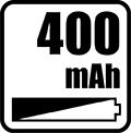 Napájací prúd 400mA