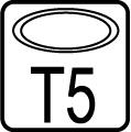 Typ objímky / pätice T5